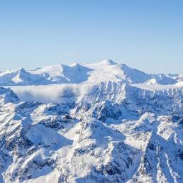 Blick zurück in die Zillertaler Alpen