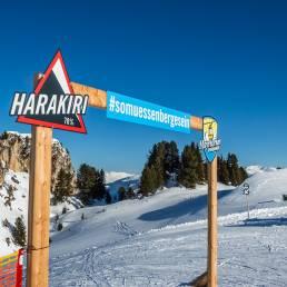 Harakiri... der Name ist Programm
