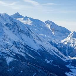 Blick zum Hintertuxer Gletscher