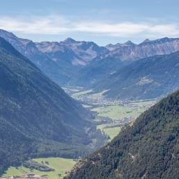 Blick in die Schweiz ins Val Müstair