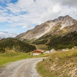 Alp da Munt mit Blick zurück in Richtung Ofenpass.