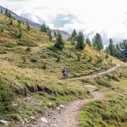 Der Trail beginnt