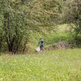 Ein letzter Trail am Bach