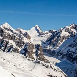 Gletscherbruch im Fieschertal