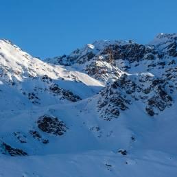 La Chaux mit Blickrichtung Col des Gentianes.