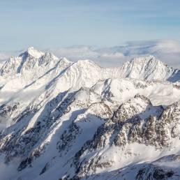 Die Stubaier Alpen - mal mit bitzli Sonne.