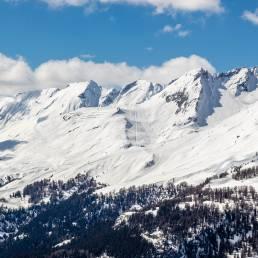 Skigebiet von Anzère gleich nebenan.