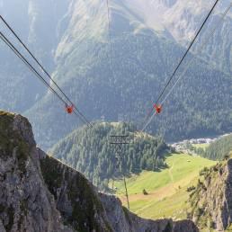 Blick von der Alp Trida