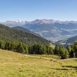 Blick Richtung Vinschgau