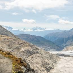 Wanderweg Aletschgletscher