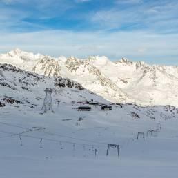 Station Kaunertaler Gletscher